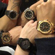 ホストたちの腕時計