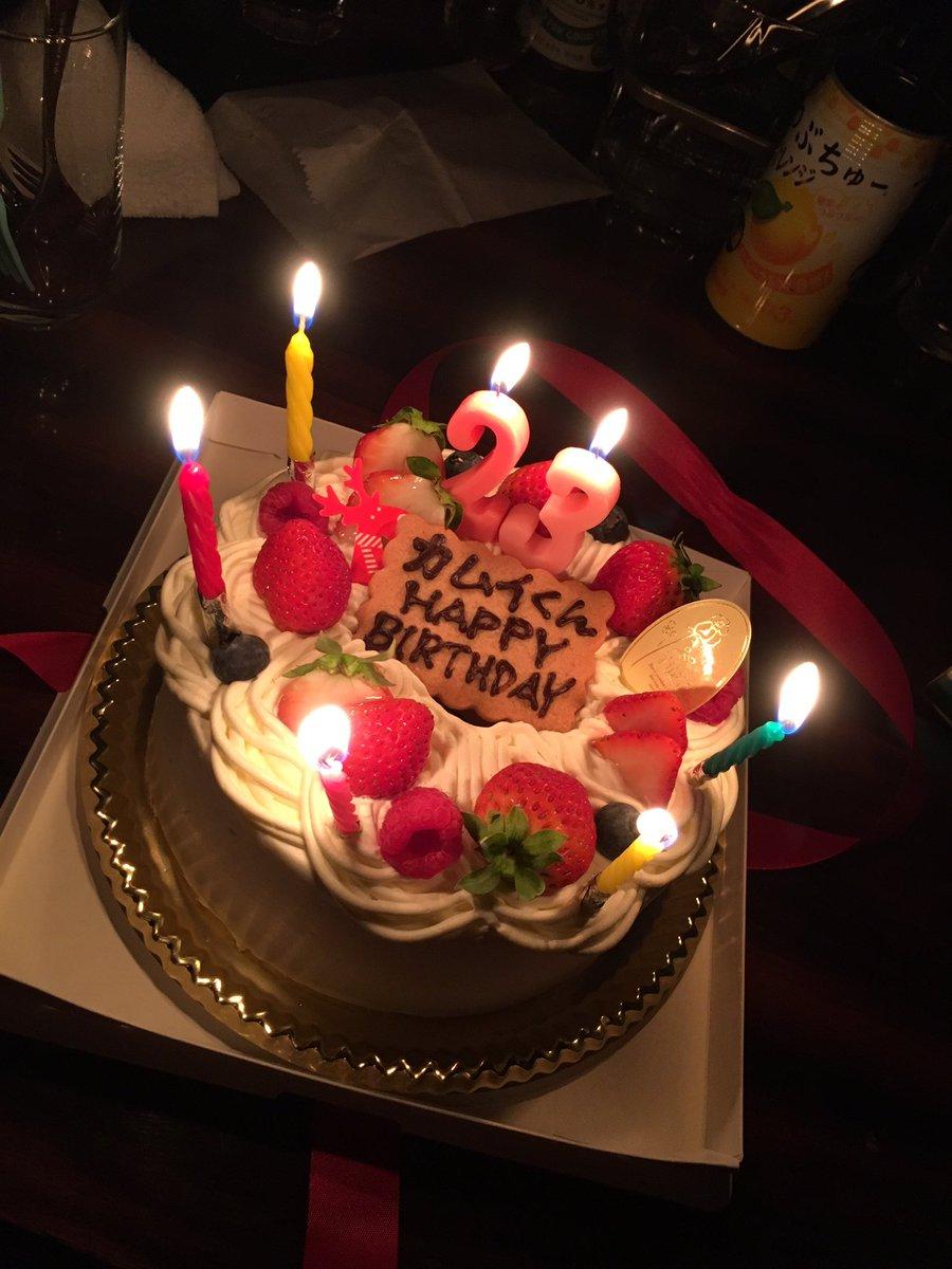 SHANTIホスト 神威 ケーキ