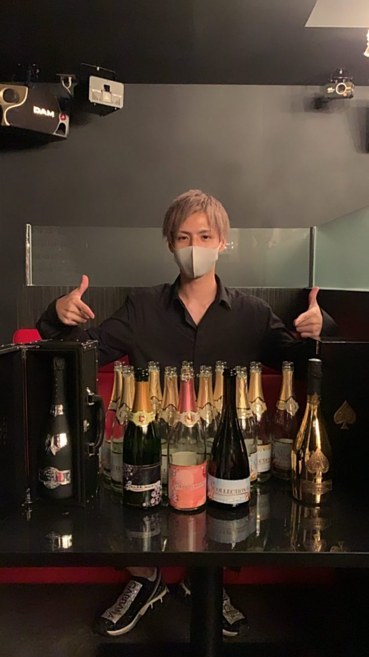 亜嵐Birthday シャンパン
