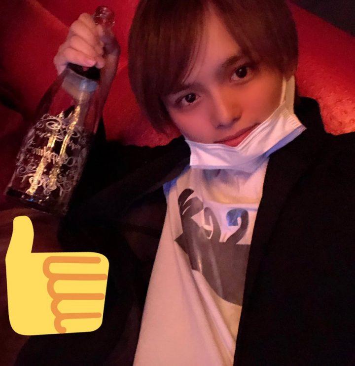 可愛幸シャンパン