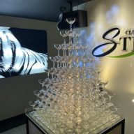 STNY シャンパンタワー
