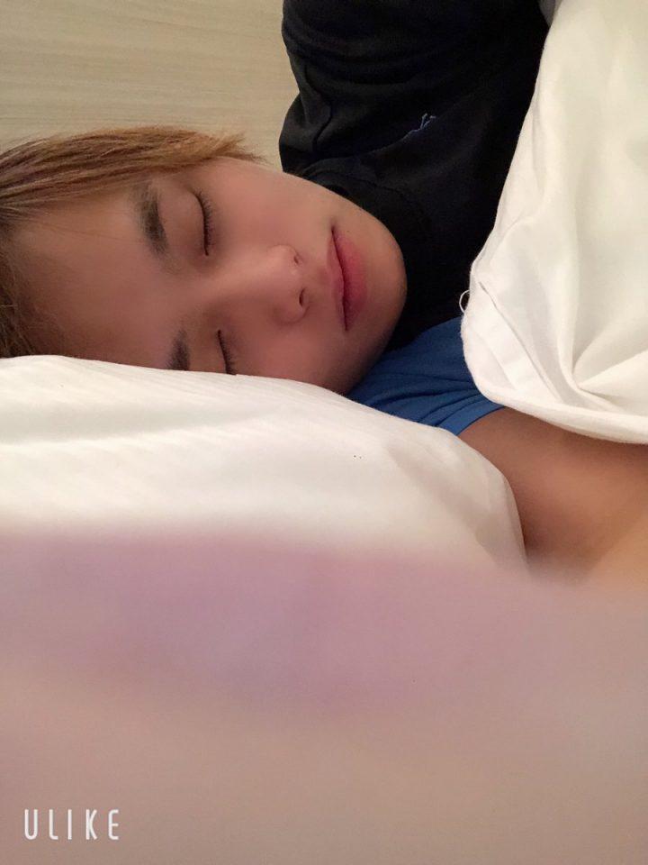 可愛幸寝顔
